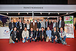 Guests attend ATOUT France V.I.P. press conference at the Longines Hong Kong Masters 2015 at the Asiaworld Expo on 14 February 2015 in Hong Kong, China. Photo by Jerome Favre / Power Sport Images