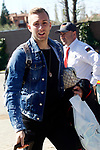 Spain's Gerard Deulofeu arrives to the national football team stage. March 20,2017.(ALTERPHOTOS/Acero)