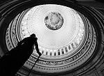 George Washington Statue in Rotunda of US Capitol Washington DC, Inside US Capitol, Rotunda of US Capitol, United States Capitol Washington D.C., United States Capital and legislature, Federal government of the United States of America Washington D.C.,