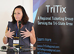 Rae Anne McLaughlin (TriTix Leadership and Kids in Seats) during the 2019 TRITIX Forum at Arts West Building on September 19, 2019 in New York City.