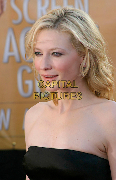 CATE BLANCHETT.Red Carpet Arrivals at the 11th Annual Screen Actors Guild Awards (SAG) held at the Shrine Auditorium, .Los Angeles, California, USA,.05 February 2005,.portrait headshot kate blanchet.Ref: ADM.www.capitalpictures.com.sales@capitalpictures.com.©J.Wong/AdMedia/Capital Pictures .