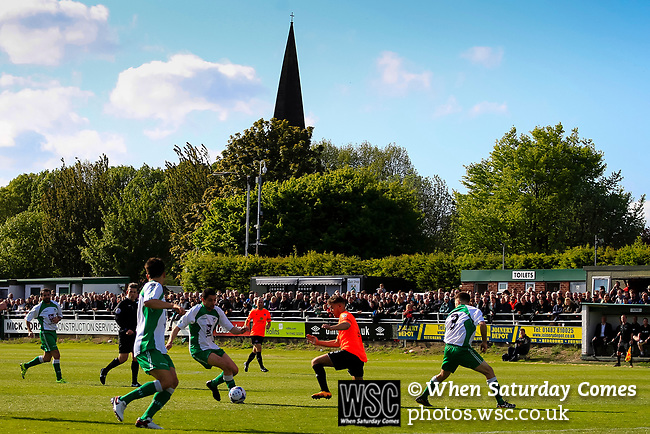 North Ferriby defending in extra time. Vanarama National League North, Promotion Final, North Ferriby United v AFC Fylde, 14th May 2016.