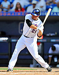 28 February 2011: New York Mets outfielder Lucas Duda in action during a Spring Training game against the Washington Nationals at Digital Domain Park in Port St. Lucie, Florida. The Nationals defeated the Mets 9-3 in Grapefruit League action. Mandatory Credit: Ed Wolfstein Photo