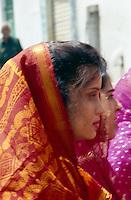 Hochzeitsumzug, Udaipur (Rajasthan), Indien