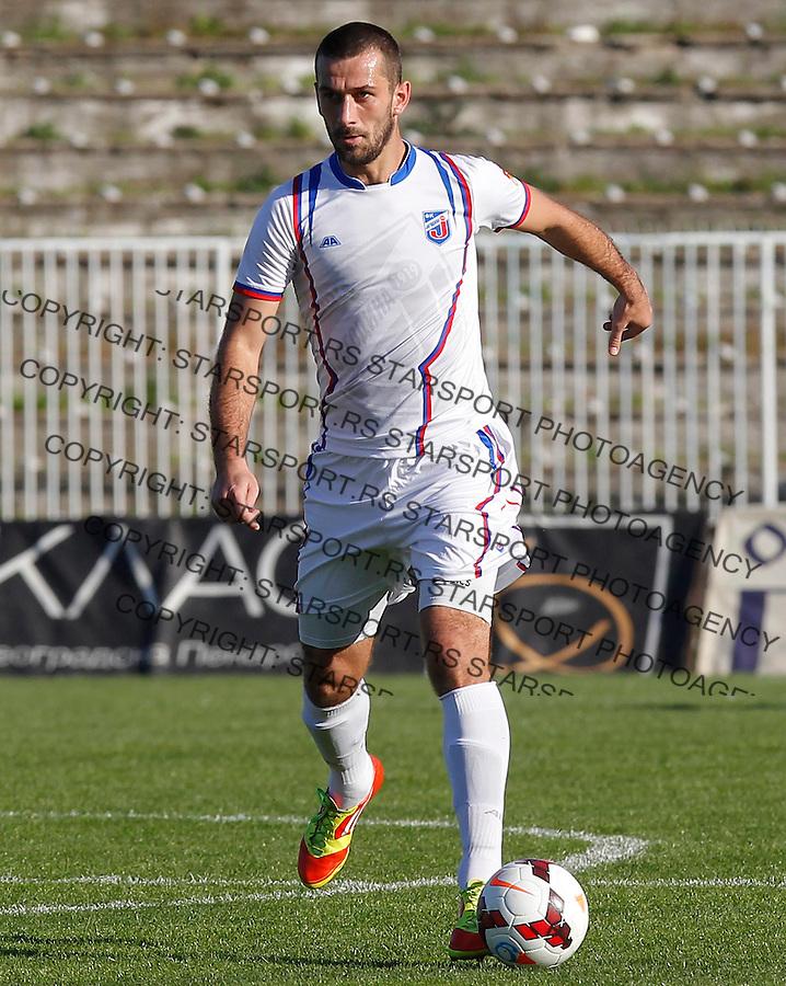 Fudbal Super liga season 2013-2014<br /> Ofk Beograd v Jagodina<br /> Danijel Mihajlovic<br /> Beograd, 09.11.2013.<br /> foto: Srdjan Stevanovic/Starsportphoto &copy;