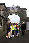 Frank Maher, Julie Feely Peggey Sarsfield and Brendan Hand.<br /> Councillors invited to join Julie Feely on walk around town to view the problem of dog fouling.<br /> Picture: Fran Caffrey www.newsfile.ie