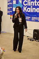 MIAMI, FL - NOVEMBER 07: Cher campaigns for Hillary Clinton at the Wynwood Canvass office on November 7, 2016 in Miami Florida. Credit: mpi04/MediaPunch