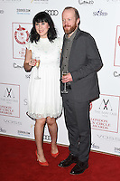 Alice Lowe &amp; Steve Oram at the 2017 London Critics' Circle Film Awards held at the Mayfair Hotel, London. <br /> 22nd January  2017<br /> Picture: Steve Vas/Featureflash/SilverHub 0208 004 5359 sales@silverhubmedia.com