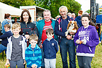 Cillian Walsh, PJ Heaphy, John Heaphy, Rosie Kelly back l-r: Valarie Bunder, James Heaphy and Jim Kelly  at Castleisland Races on Sunday