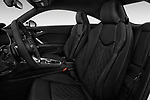 Front seat view of 2016 Audi TT-Coupe  2.0T-quattro-S-tronic 2 Door Coupe front seat car photos