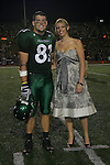 Denton, TX - OCTOBER 7:  Johnny Quinn #81- homecoming  University of North Texas Mean Green football vs Florida International University Panthers at Fouts Field in Denton on October 7, 2006 in Denton, Texas. NT wins 25-22. Photo by Rick Yeatts