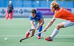 UTRECHT - Jonas de Geus (Kampong)  tijdens de hoofdklasse competitiewedstrijd mannen, Kampong-Bloemendaal (2-2) . ) . COPYRIGHT KOEN SUYK