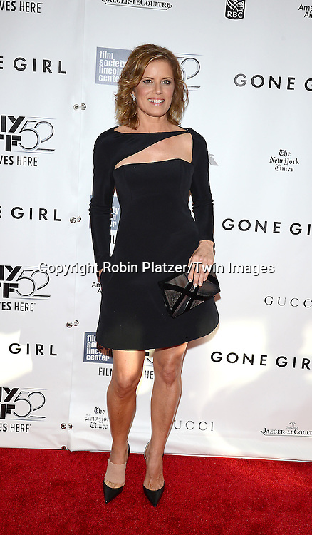 Kim Dickens attends the &quot;Gone Girl&quot; premiere at the opening night of The New York Film Festival  on September 26, 2014 at Alice Tully Hall in New York City. <br /> <br /> photo by Robin Platzer/Twin Images<br />  <br /> phone number 212-935-0770