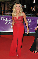 Carol Vorderman at the Pride of Britain Awards 2017, Grosvenor House Hotel, Park Lane, London, England, UK, on Monday 30 October 2017.<br /> CAP/CAN<br /> &copy;CAN/Capital Pictures /MediaPunch ***NORTH AND SOUTH AMERICAS ONLY***