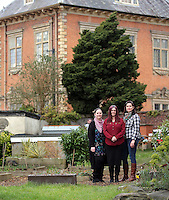 Pictured:Friday 04 March 2016<br /> Re:  Oxfam community project, Duffryn Community Link <br /> located at Tredegar House near Newport, south Wales, UK. The project involves gardening with people in poverty.