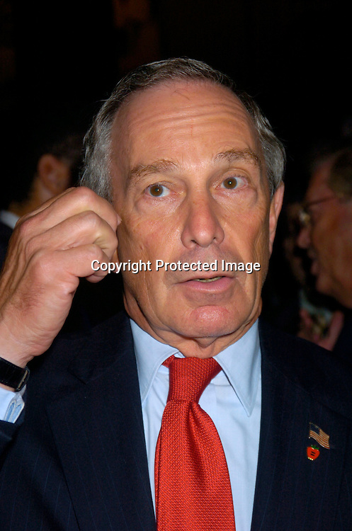 Mayor Michael Bloomberg ..at the Newsweek Party for the Republican Convention ..on August 30, 2004 at The Four Season Restaurant...Photo by Robin Platzer, Twin Images