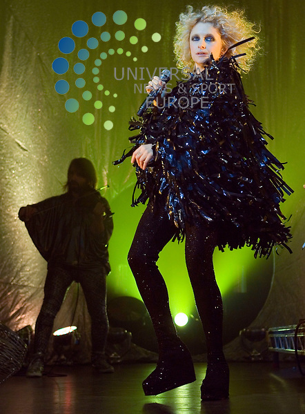 Goldfrapp plays at King Tuts in Glasgow on Friday 19th November 2010.. .Pictures: Peter Kaminski/Universal News and Sport (Europe)2010