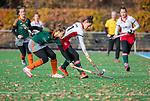 TILBURG  - hockey-  Janneke van de Venne (MOP)   tijdens de wedstrijd Were Di-MOP (1-1) in de promotieklasse hockey dames. COPYRIGHT KOEN SUYK