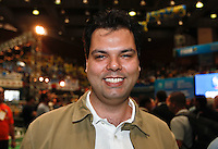 SAO PAULO, SP, 24 JUNHO 2012 - CONVENÇAO PSDB  Bruno Covas durante convenção do PSDB para lancamento da candidatura do tucano José Serra no Ginásio Mauro Pinheiro (Ibirapuera) nesse domingo, 24. FOTO: VANESSA CARVALHO - BRAZIL PHOTO PRESS.