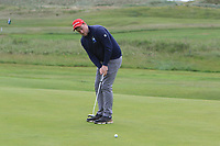 Gary Ward (Kinsale) on the 1st green during Round 2 of The East of Ireland Amateur Open Championship in Co. Louth Golf Club, Baltray on Sunday 2nd June 2019.<br /> <br /> Picture:  Thos Caffrey / www.golffile.ie<br /> <br /> All photos usage must carry mandatory copyright credit (© Golffile   Thos Caffrey)