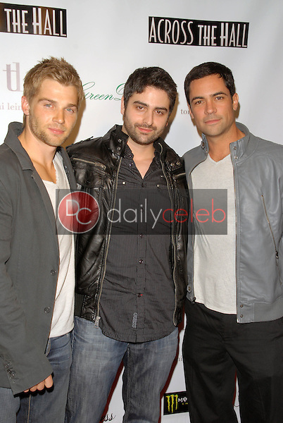 """Mike Vogel, Alex Merkin and Danny Pino<br /> at the """"Across the Hall"""" Premiere, Laemmle's Music Hall, Beverly Hills, CA. 12-01-09<br /> David Edwards/Dailyceleb.com 818-249-4998"""