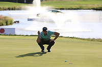 Haydn Porteous (RSA) on the 18th green during Round 4 of the D+D Real Czech Masters at the Albatross Golf Resort, Prague, Czech Rep. 03/09/2017<br /> Picture: Golffile | Thos Caffrey<br /> <br /> <br /> All photo usage must carry mandatory copyright credit     (&copy; Golffile | Thos Caffrey)