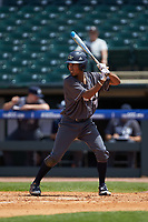 Nick Wilhite of the Georgia Tech Yellow Jackets at bat against the Miami Hurricanes during game one of the 2017 ACC Baseball Championship at Louisville Slugger Field on May 23, 2017 in Louisville, Kentucky. The Hurricanes walked-off the Yellow Jackets 6-5 in 13 innings. (Brian Westerholt/Four Seam Images)