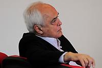 SÃO PAULO,SP, 10.04.2019 - Carlos A.B.e Siva, presidente  do São Paulo Fc, durante apresentação oficial no Ct da Barra Funda, na região oeste da cidade de São Paulo, na manhã desta quarta-feira, 10. )Foto: Dorival Rosa/Brazil Photo Press/Folhapr