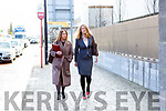 Eimear Griffin (solicitor) and Katie O'Connell BL at the Courthouse Mulgrave Street, Limerick on Wednesday.
