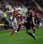 Rotherham United VS Walsall FC, New York Stadium Rotherham, Tuesday 12th September 2017 <br /> <br /> Rotherhams Richie Towell<br /> <br /> Picture - Alex Roebuck / www.alexroebuck.co.uk