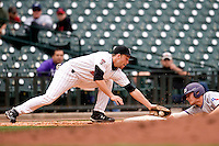 Texas Tech Red Raider Nick Popescu against TCU on Friday March 5th, 2100 at the Astros College Classic in Houston's Minute Maid Park.  (Photo by Andrew Woolley / Four Seam Images)