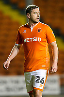 Blackpool's Steve Davies<br /> <br /> Photographer Alex Dodd/CameraSport<br /> <br /> The EFL Checkatrade Trophy Northern Group C - Blackpool v West Bromwich Albion U21 - Tuesday 9th October 2018 - Bloomfield Road - Blackpool<br />  <br /> World Copyright &copy; 2018 CameraSport. All rights reserved. 43 Linden Ave. Countesthorpe. Leicester. England. LE8 5PG - Tel: +44 (0) 116 277 4147 - admin@camerasport.com - www.camerasport.com