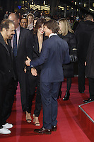 Edward Zwick, Cobie Smulders and Tom Cruise attending the &quot;Jack Reacher: Never Go Back&quot; (german title: &quot;Jack Reacher: Kein Weg zurueck&quot;) premiere held at CineStar, Sony Center, Potsdamer Platz, Berlin, Germany, 21.10.2016. <br /> Photo by Christopher Tamcke/insight media /MediaPunch ***FOR USA ONLY***
