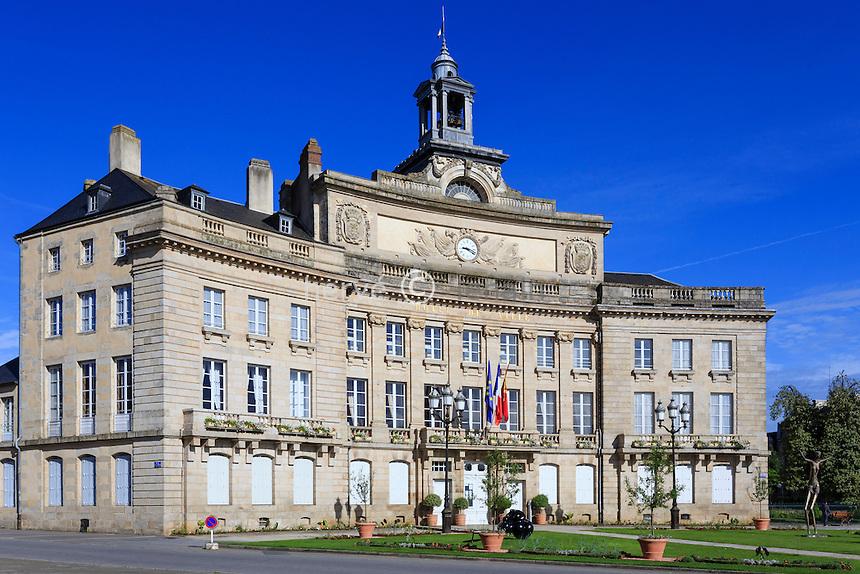 France, Orne (61), Alençon, l'Hôtel de Ville // France, Orne, Alencon, the City Hall