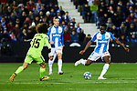 Kenneth Josiah Omeruo of CD Leganes during La Liga match between CD Leganes and Getafe CF at Butarque Stadium in Leganes, Spain. January 17, 2020. (ALTERPHOTOS/A. Perez Meca)