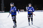 Uppsala 2013-11-13 Bandy Elitserien IK Sirius - IFK Kung&auml;lv :  <br /> Sirius Tobias Engstrand och Sirius Daniel B&auml;rnesk&auml;r  ser nedst&auml;mda ut efter matchen <br /> (Foto: Kenta J&ouml;nsson) Nyckelord:  depp besviken besvikelse sorg ledsen deppig nedst&auml;md uppgiven sad disappointment disappointed dejected