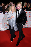 Jayne Torvill and Christopher Dean<br /> arriving for the National Television Awards 2018 at the O2 Arena, Greenwich, London<br /> <br /> <br /> ©Ash Knotek  D3371  23/01/2018