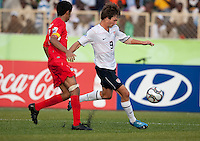 Jack McInerney. US Under-17 Men's National Team defeated United Arab Emirates 1-0 at Gateway International  Stadium in Ijebu-Ode, Nigeria on November 1, 2009.
