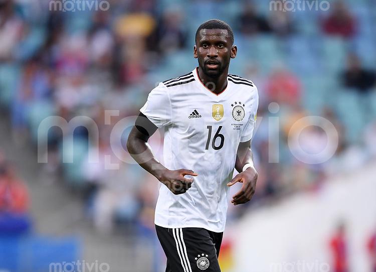 FUSSBALL FIFA Confed Cup 2017 Vorrunde in Sotchi 19.06.2017  Australien - Deutschland  Antonio RUEDIGER (Deutschland)