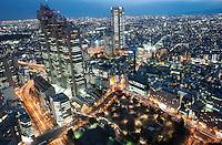 The Grand Hyatt in Shinjuku, Tokyo.<br /> <br /> Richard Jones  /  Sinopix