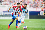 Angel Correa of Atletico Madrid in action during their La Liga match between Atletico Madrid and Deportivo de la Coruna at the Vicente Calderon Stadium on 25 September 2016 in Madrid, Spain. Photo by Diego Gonzalez Souto / Power Sport Images