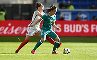 Harrison, N.J. - Sunday March 04, 2018: Sara Däbritz during a 2018 SheBelieves Cup match between the women's national teams of the Germany (GER) and England (ENG) at Red Bull Arena.