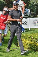 Tony Finau (USA) departs the 2nd tee during round 3 of the World Golf Championships, Mexico, Club De Golf Chapultepec, Mexico City, Mexico. 3/3/2018.<br /> Picture: Golffile | Ken Murray<br /> <br /> <br /> All photo usage must carry mandatory copyright credit (&copy; Golffile | Ken Murray)