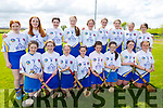 Tralee Parnells camogie team, taking part in the B Feile Final in Abbeydorney on Sunday.