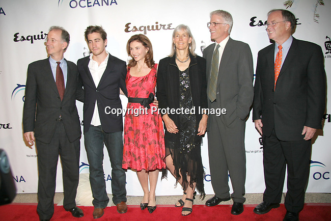 Andrew Sharpless, Jake Gyllenhaal, Mary Steenburgen, Julie Packard, Ted Danson &amp; Congressman Sam Farr<br />