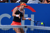 Washington, DC - August 6, 2017: Ekaterina Makarova plays in the Citi Open championship match with Julia Goerges held at the Rock Creek Tennis Center in Washington, D.C., August 6, 2017.  (Photo by Don Baxter/Media Images International)