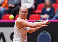 Netherlands, Den Bosch, April 18 2015 Maaspoort, Fedcup Netherlands-Australia,  Kiki Bertens (NED)  <br /> Photo: Tennisimages/Henk Koster