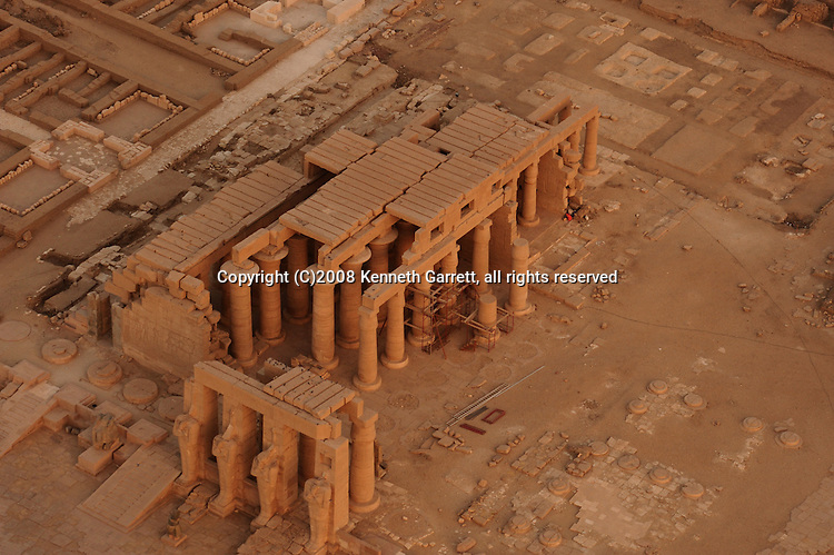 Hatshepsut, Egypt, Balloon Aerials, West Bank, Luxor