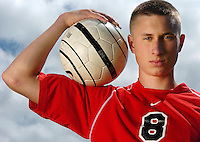 Bellingham High School senior Nick Cashmere, The Bellingham Herald's boy's soccer player of the year...all-county soccer NJD.sports.Niki desautels