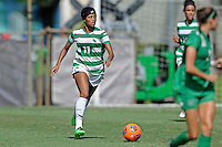 8 November 2015:  North Texas Forward Marchelle Davis (11) advances the ball in the second half as the University of North Texas Mean Green defeated the Marshall University Thundering Herd, 1-0, in the Conference USA championship game at University Park Stadium in Miami, Florida.